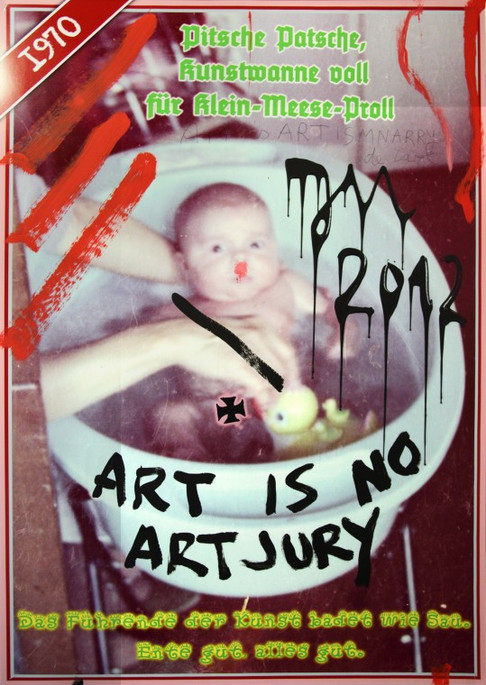 "JONATHAN MEESE, ""DRAGONBABY ""Johnny"" Series, 2012"