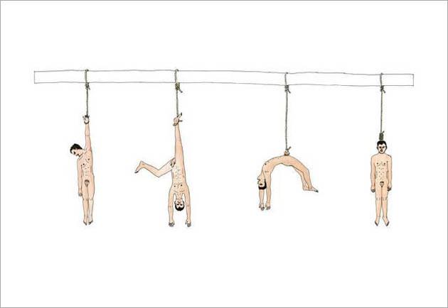 ATELIER  VAN LIESHOUT, Hanging Man, 2003
