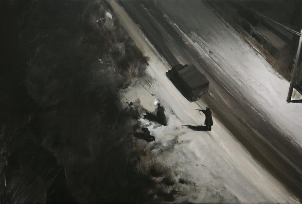 ADRIAN GHENIE, It could be anywhere, 2008