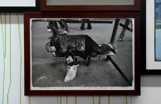 ED TEMPLETON, Life is just passing him