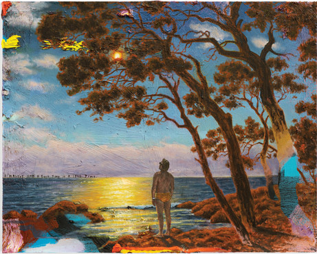 FRIEDRICH KUNATH I Haven't Had A Good Time In A Long Time., 2020-2021 oil on canvas, 61 x 76,2 cm