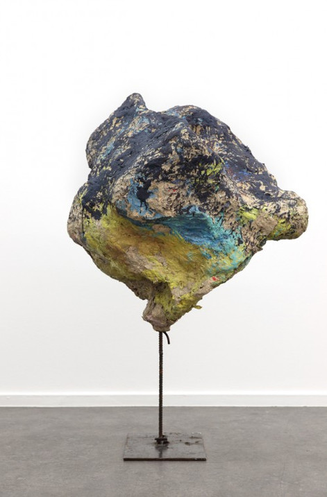 FRANZ WEST Untitled, 2003 papier-mâché, metal, acrylic 103 (h) x 64 x 57 cm