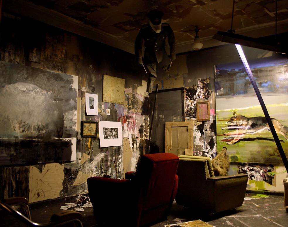 ADRIAN GHENIE, The Dada Room, 2010