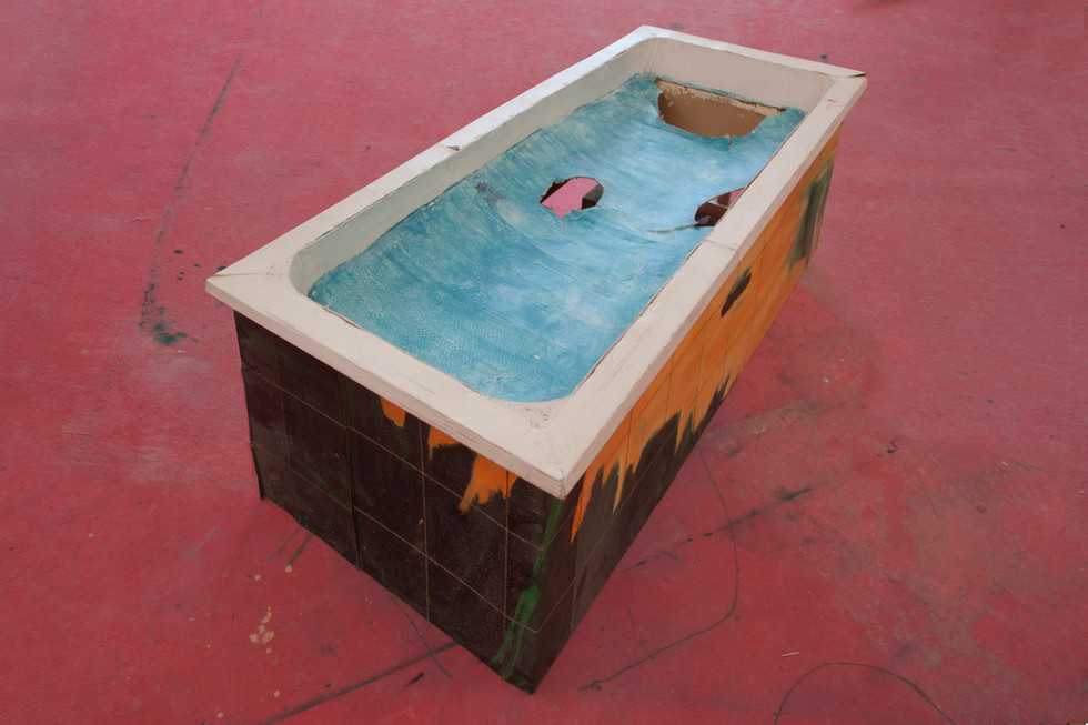RINUS VAN DE VELDE,  Prop, Bathroom, Bathtub, 2017