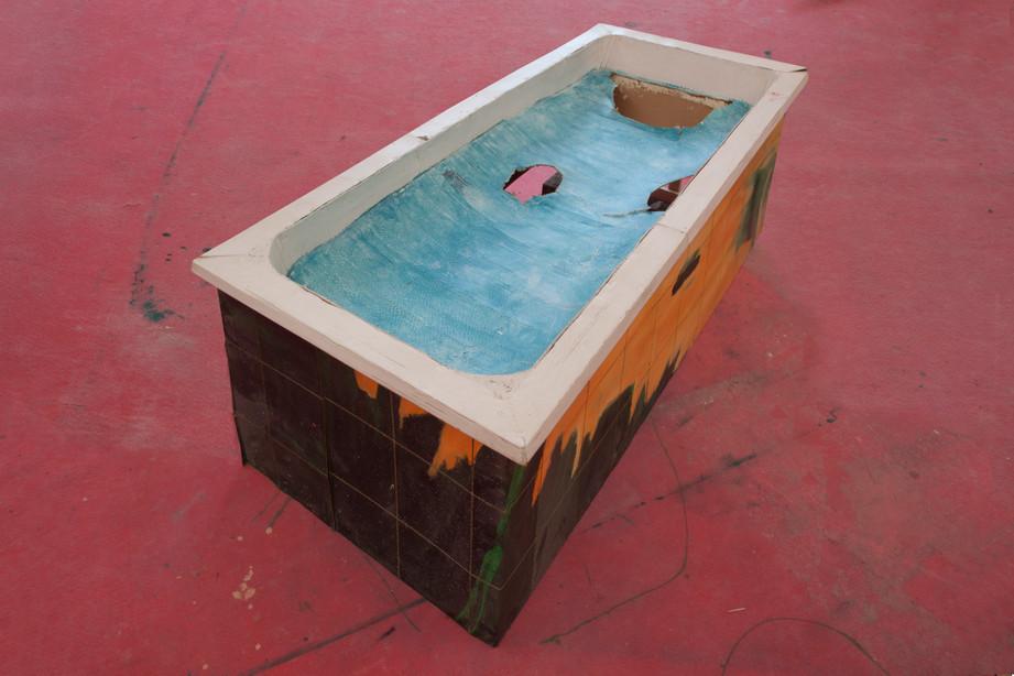 RINUS VAN DE VELDE,  Prop, Bathroom, Bathtub, 2017