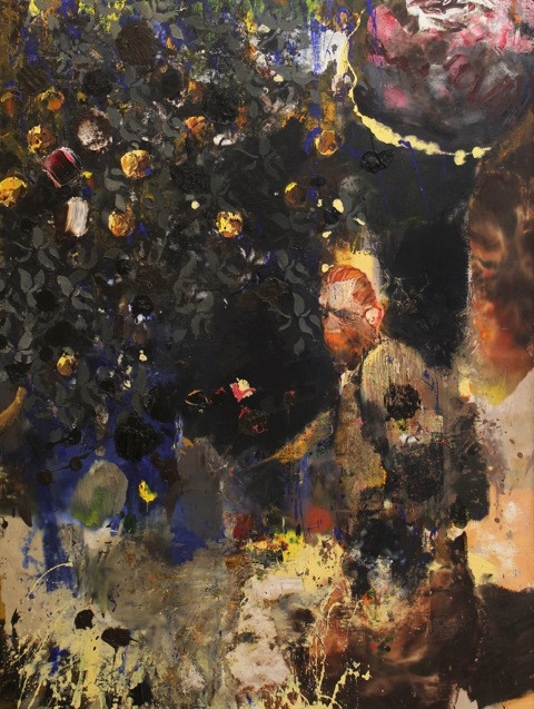 ADRIAN GHENIE On the road to Tarascon 2, 2013 oil on canvas 210 x 160 cm