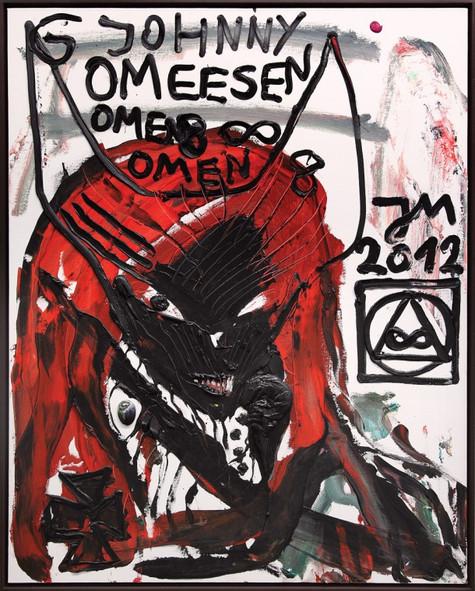 """JONATHAN MEESE, """"DAS LETZTE VOLKSFEST SCHREIT: KUNST UNGLEICH KLASSENKAMPF"""", 2012"""