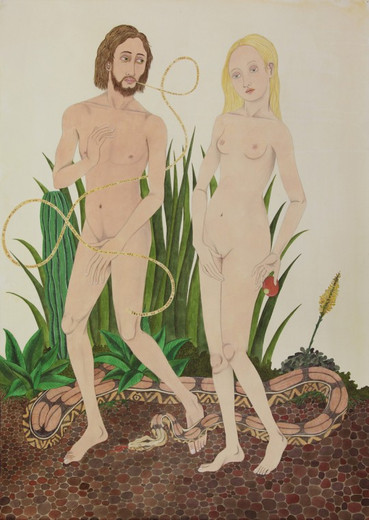 ED TEMPLETON, Expulsion from Eden (After Vrancke van der Stockt), 2012