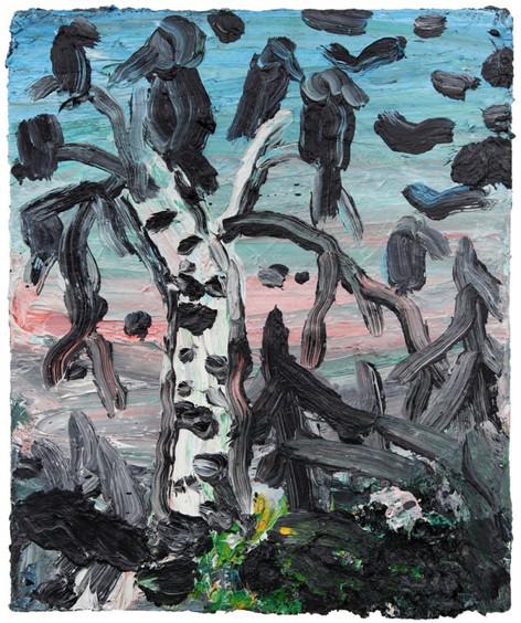 ARMEN ELOYAN Landscape painting VII, 2013 oil on canvas 60 x 50 cm