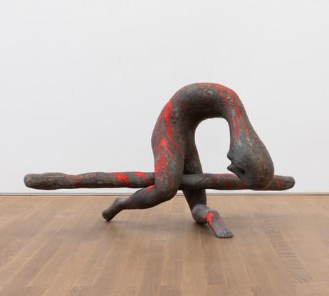HENK VISCH Im Simulationsraum, 2019 bronze, paint 66,5 x 131 x 55,5 cm edition of 2 and 1 A.P.