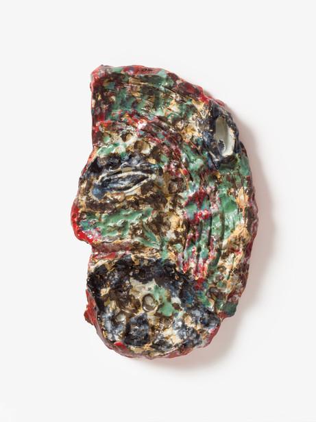 "JONATHAN MEESE CHEF ""MONDKALB"" DE LARGE IM ATLASGEBIRGE!, 2020 glazed ceramic 56 x 35 x 8 cm"