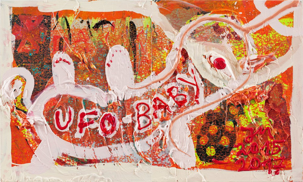 JONATHAN MEESE, UFO-L.A.N.D.-AHOI-YOU..., 2015-2017