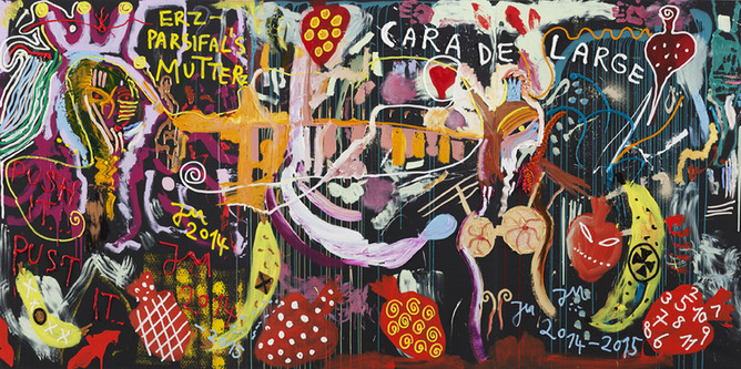 JONATHAN MEESE, BUBBEL DE BABE, PULL PULLI-PULL-PULLSNS', VOLLE PULLE, 2014-2015