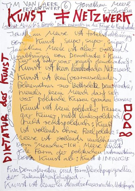 "JONATHAN MEESE, Manifest DRAGONBABY ""Johnny"" (Erzmuttersöhnchen on the Rocks), 2012"