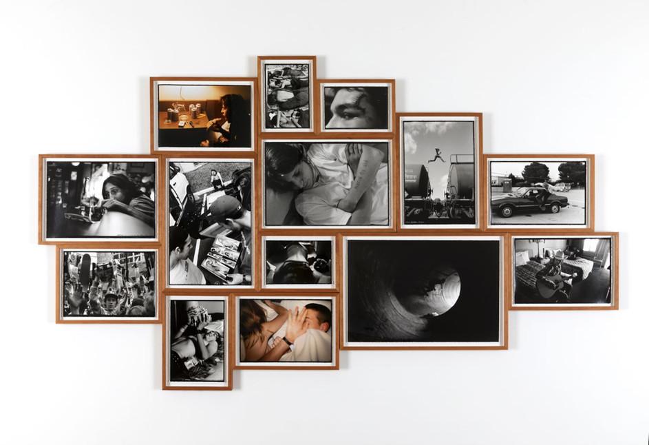 ED TEMPLETON Time Margins, 2017 14 Silver Gelatin Prints / C-Prints 123 x 213 cm