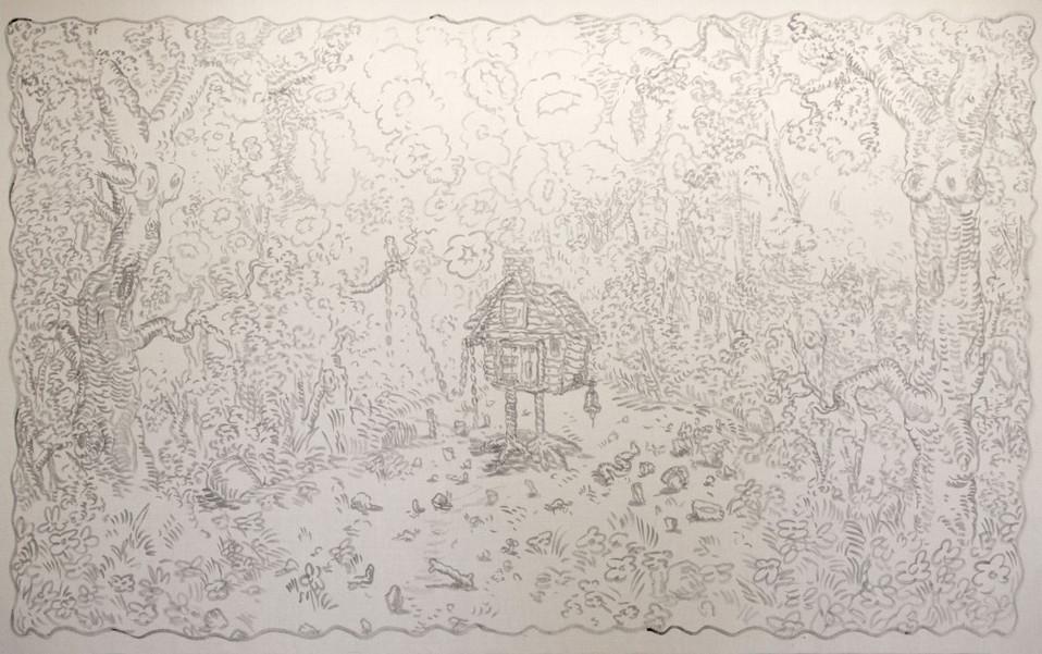 ARMEN ELOYAN, Untitled (Tapestry 3), 2016