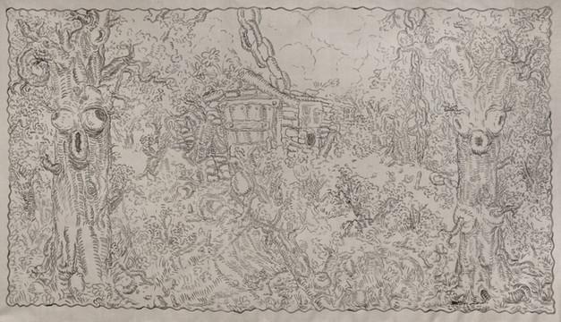ARMEN ELOYAN, Untitled (Tapestry 5), 2016