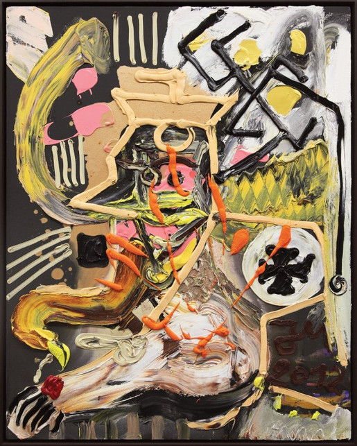 "JONATHAN MEESE, ""BRÜLLBINGO RUFT: KUNST UNGLEICH KLASSENKAMPF"", 2012"