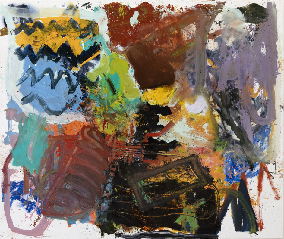 ANKE WEYER Emotions, 2019 oil on canvas 193 x 228 cm