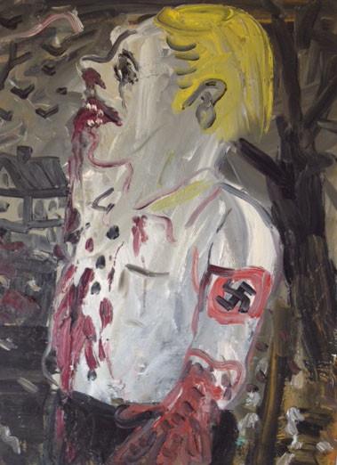 "ARMEN ELOYAN Psychological Terror and Trauma ""Youth"", 2012 oil on canvas 80 x 60 cm"