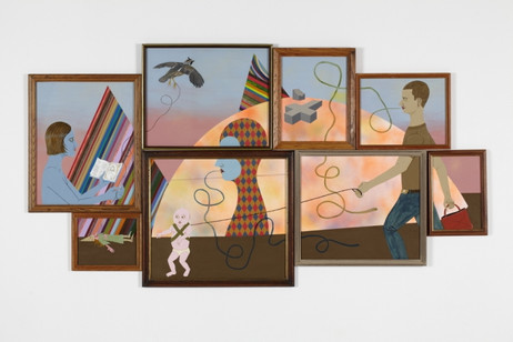 ED TEMPLETON Everyday Desires, 2011 98 x 186 cm  acrylic and ink on paper