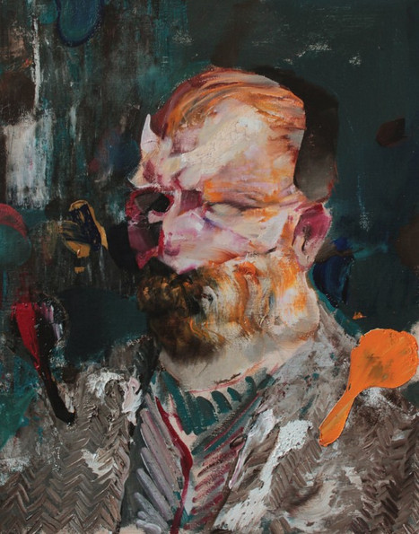ADRIAN GHENIE, Selfportrait as Vincent Van Gogh 3, 2014