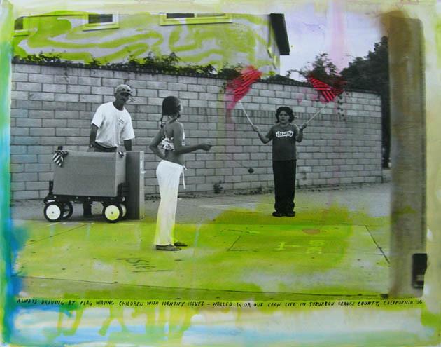 ED TEMPLETON, Flag Waving Children, 2008