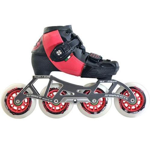 Luigino Kid's 4 Wheel Adjustable Challenge Outdoor Inline Skate Package