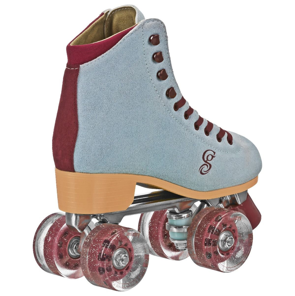 Teal Candi Grl Carlin Quad Roller Skates