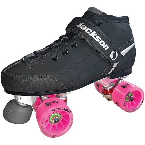 SUPREME FALCON DERBY QUAD SKATE PACKAGE W/Poison Wheels