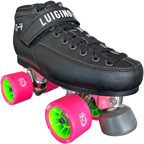 Q4 Viper Derby Quad Skate Package w/Highest Quality Wheels