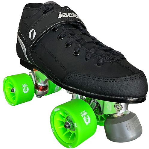 SUPREME VIPER DERBY QUAD SKATE PACKAGE W/Highest Quality Wheels