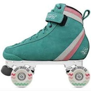 Parkstar Pastel Complete Skates-Teal Striple