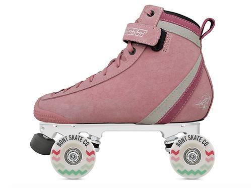 Parkstar Pastel Complete Skates-Pink Striple