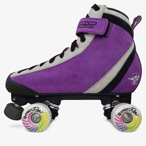 Bont Purple ParkStar Roller Skate Park Package