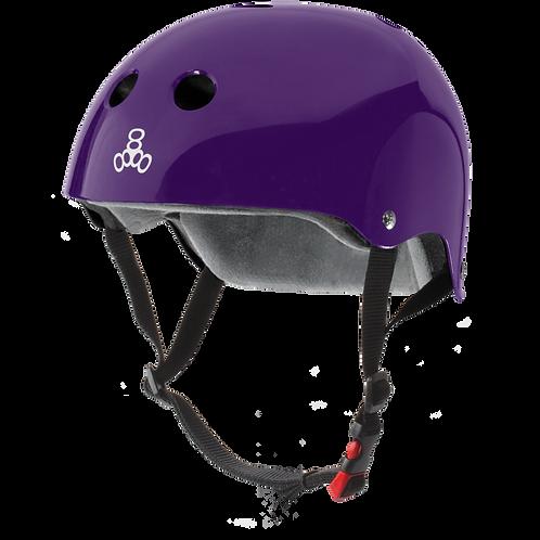 Triple8- Certified Sweatsaver-Purple Glossy