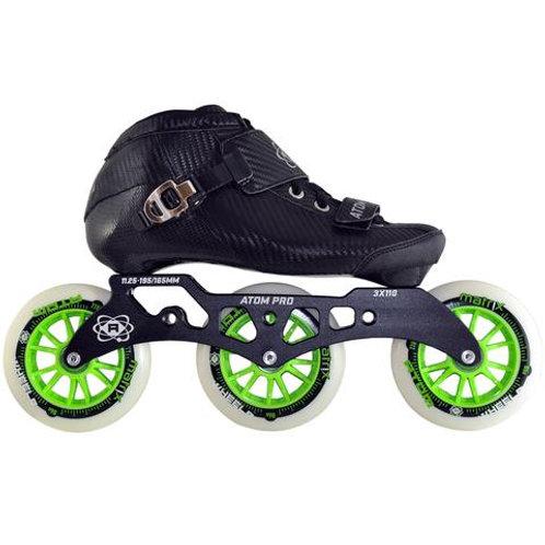 Atom Pro Outdoor 3 Wheel Inline Skate Package