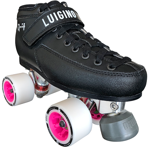 Q4 Viper Derby Quad Skate Package W/Poison Wheels