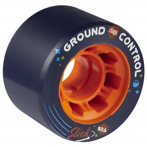 CHAYA GROUND CONTROL SLICK 59MMX38MM / 92A RED 4-PACK