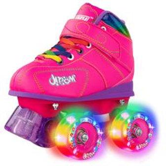 DREAM ROLLER SKATES-QUAD SKATES WITH LIGHT UO WHEELS-GIRLS