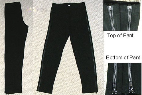 FULL ZIP-UP PANTS