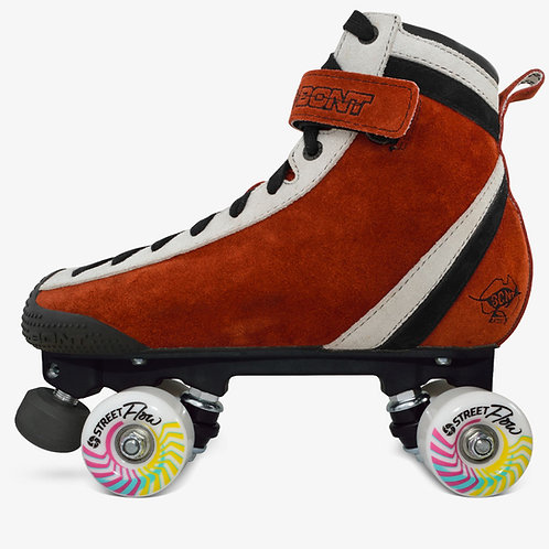 Bont Red ParkStar Roller Skate Park Package