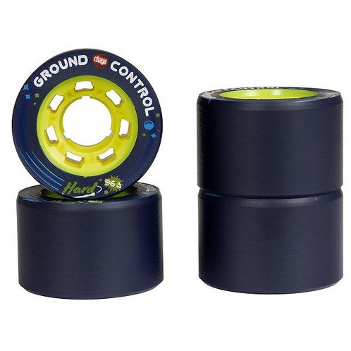 CHAYA GROUND CONTROL HARD 59MMX38MM / 96A YELLOW 4-PACK
