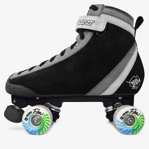 Bont Black ParkStar Roller Skate Park Package