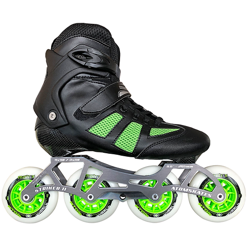 ATOM PRO FITNESS 4X90 OUTDOOR INLINE SKATE PACKAGE