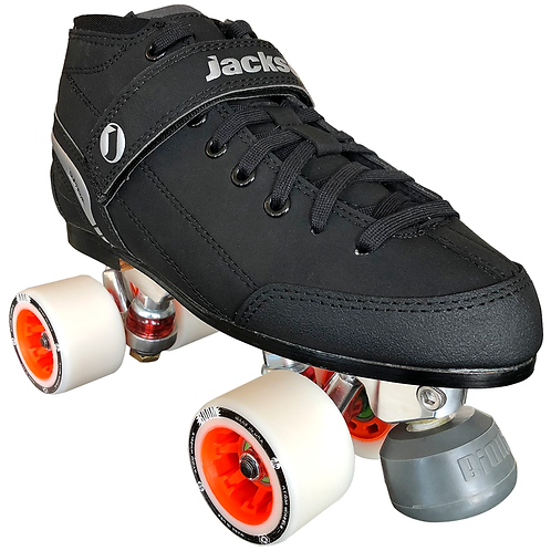 SUPREME FALCON DERBY QUAD SKATE PACKAGE W/Atom Boom Wheels