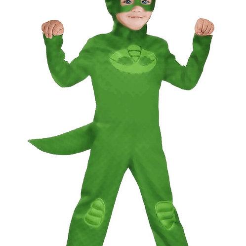 תחפושת כוח פיג׳יי ירוק