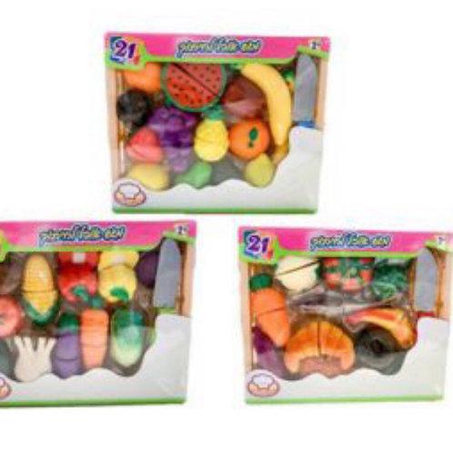 פירות חתוכים במגש 21 חלקים