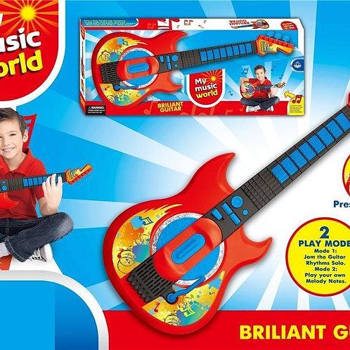 גיטרת ילדים עם מנגינות