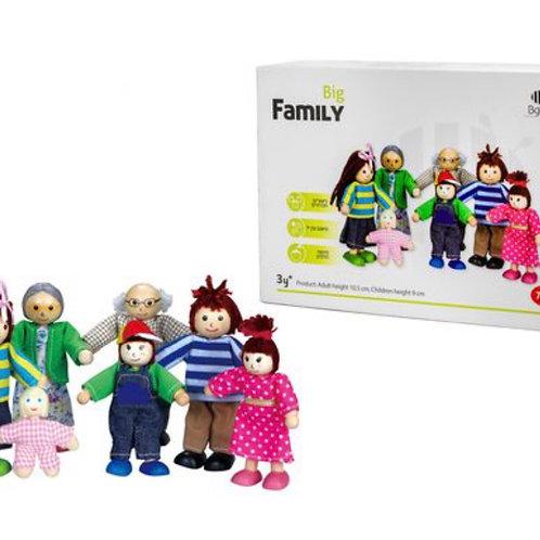 בובות משפחה מעץ
